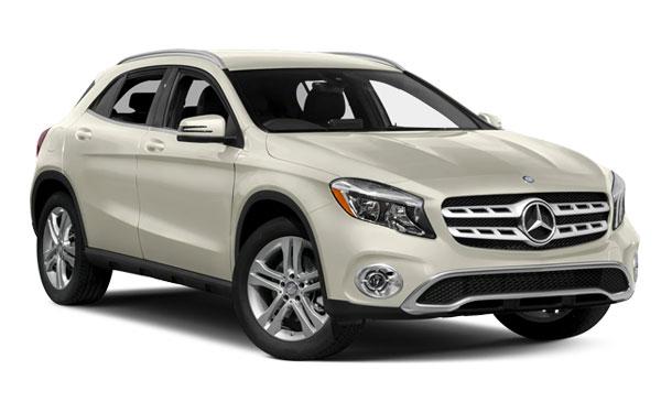 Renting Mercedes-Benz GLA
