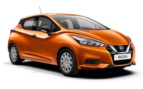 Renting de Nissan Micra