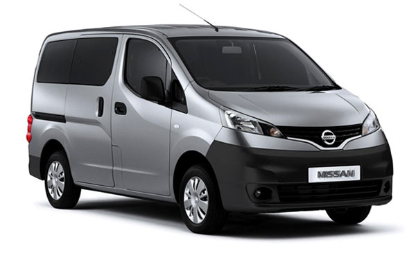 Renting de Nissan NV200