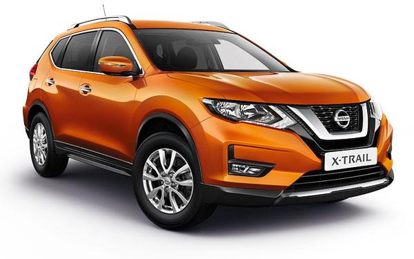 Renting de Nissan X-Trail