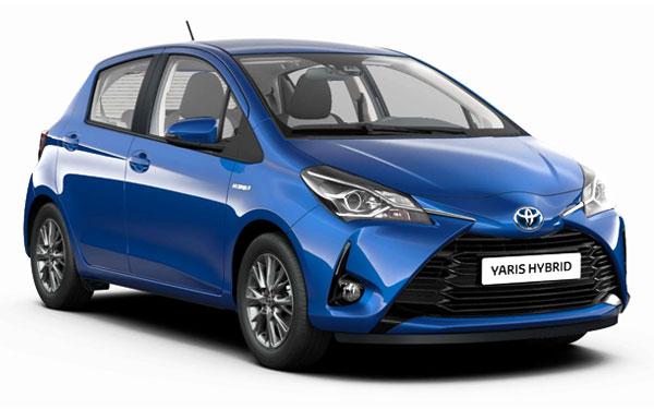 Renting Toyota Yaris Híbrido