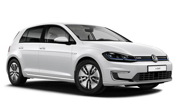 Renting de Volkswagen e-Golf